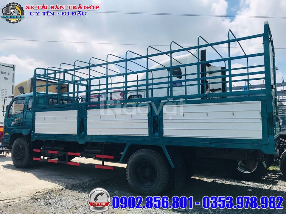 Mua xe tải 7 tấn giá rẻ, chiến thắng 7 tấn thùng dài 6.3 mét thanh lý