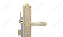 Khóa cửa chính NK193L-24K (Màu Vàng)