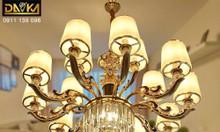 Đèn chùm nghệ thuật cổ điển Châu Âu