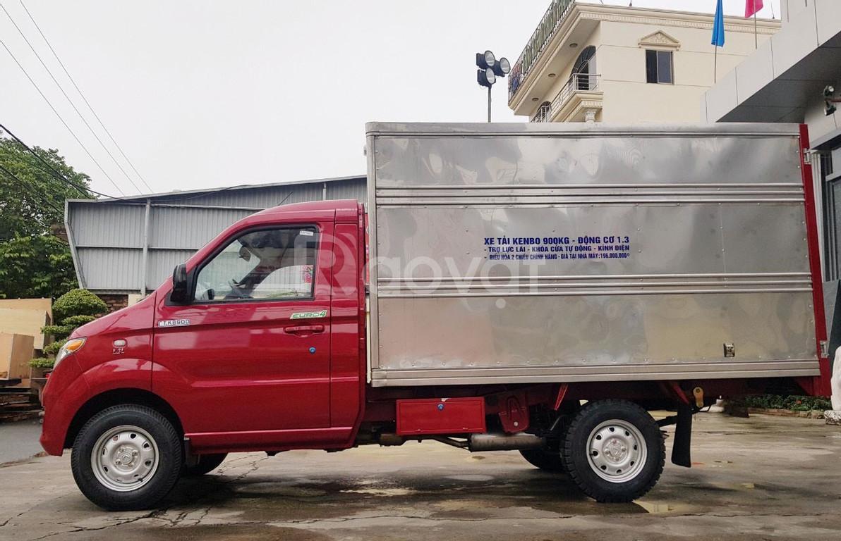 Xe tải KENBO 900kg thùng cánh dơi + trả góp 70%