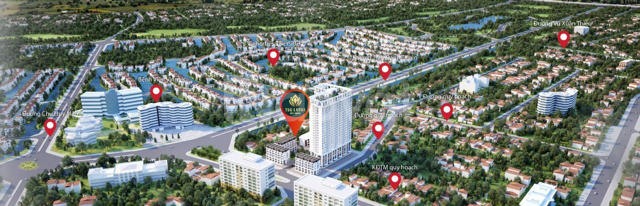 Những ưu đãi lớn tại chung cư TSG Lotus Sài Đồng Long Biên