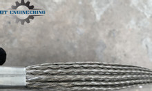 Thanh đồng bện nối cực máy hàn lồng, thanh đồng bẹ nối máy hàn