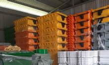 Xe thu gom rác 660 lit, nhựa HDPE