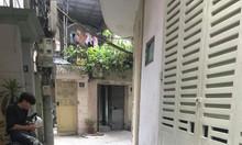 Ngõ thông, 3 gác đỗ của phố Ô Chợ Dừa, Đống Đa, 2.79tỷ x 4 tầng