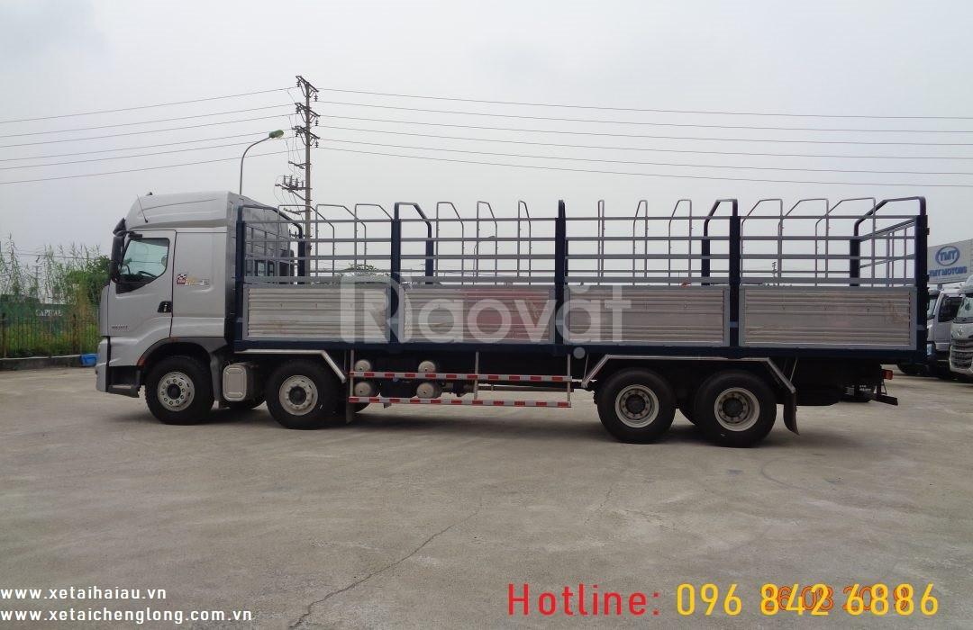 Xe tải thùng chenglong 3 4 5 chân, 13 14 17 18 21 22 tấn, giá tốt