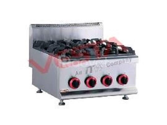 Bếp nấu công nghiệp 4  dùng gas