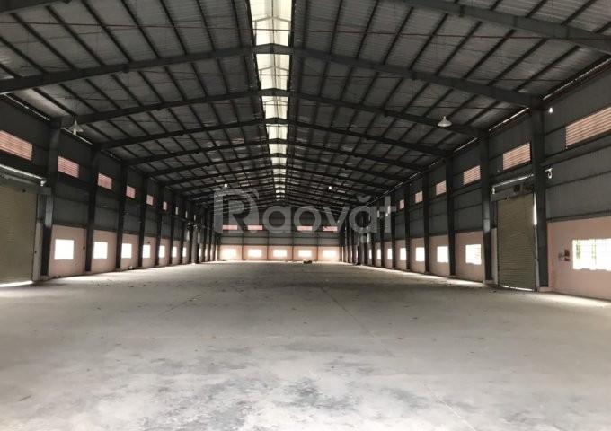 Cho thuê kho xưởng DT 1200m2 Nam Hồng Đông Anh Hà Nội.
