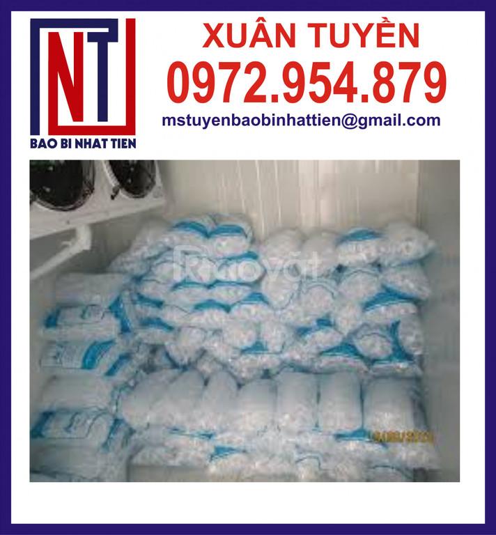 Bao bì nước đá, túi đựng đá tinh khiết 10kg