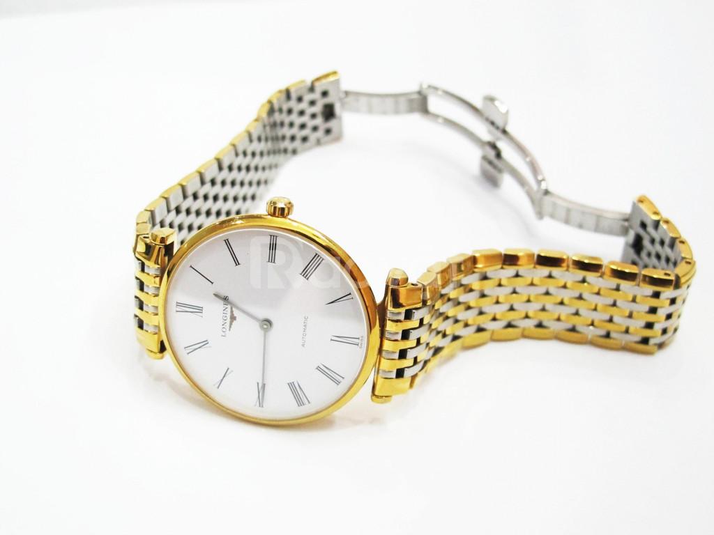 LONGINES Automatic Mạ vàng fullbox lộ máy giá thanh lý bán rẻ