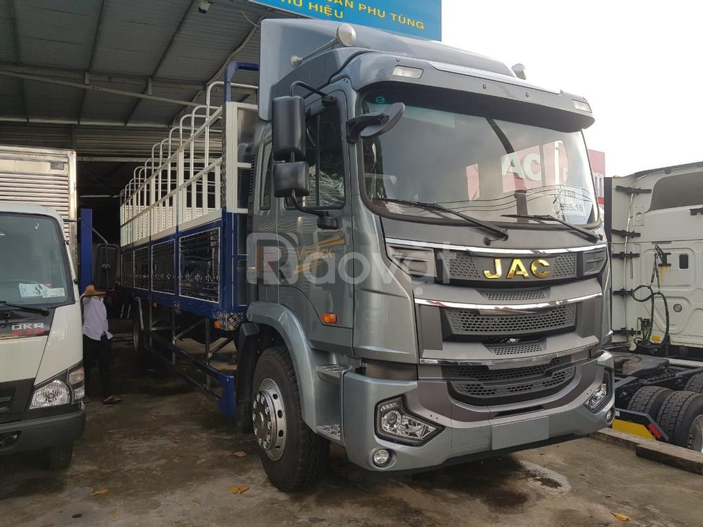 Xe tải jac A5 8 tấn thùng dài 9.5 mét nhập khẩu thùng 50 khối