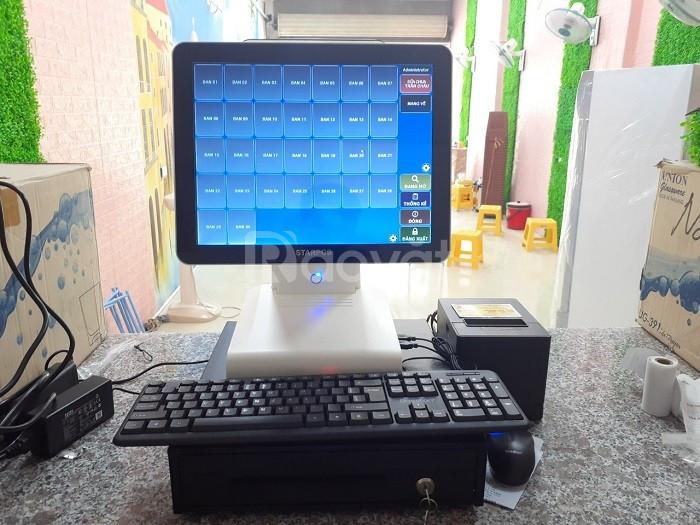 Combo máy tính tiền cho quán mỳ cay tại Quy Nhơn