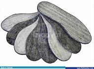 Vải xăm kim, vải nỉ may lót nội thất, lót giày, túi trồng cây