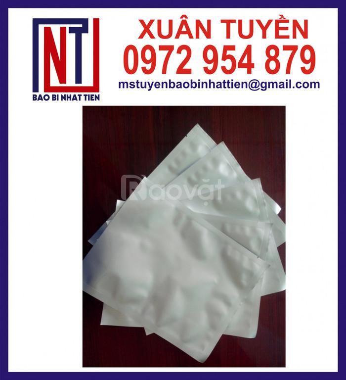 Cung cấp túi nhôm trắng sữa 3 biên