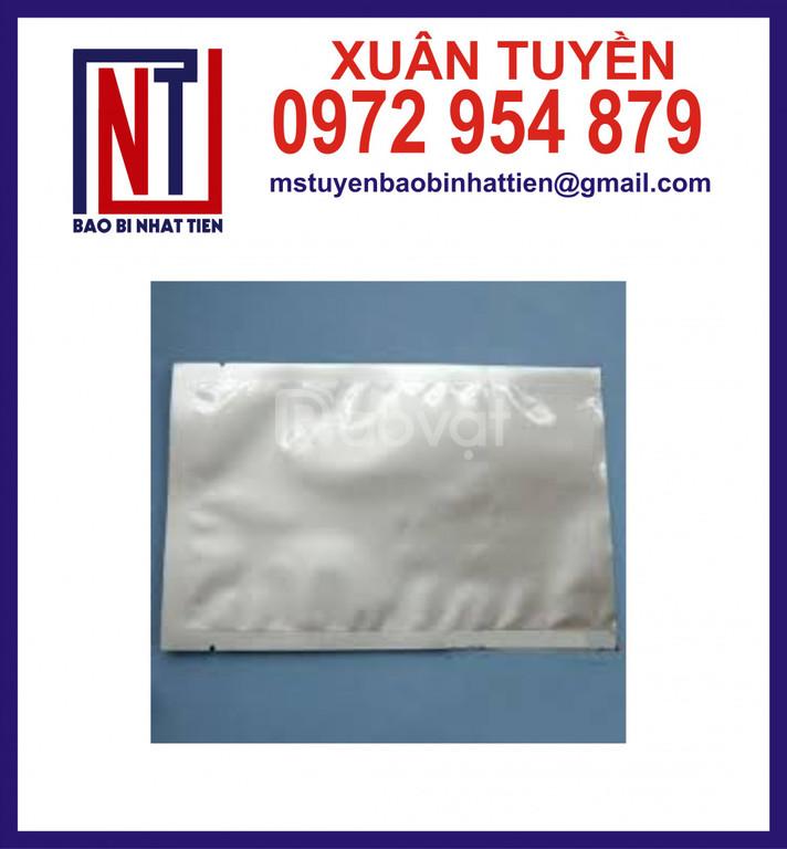 Túi nhôm không in, sản xuất túi nhôm 3 biên