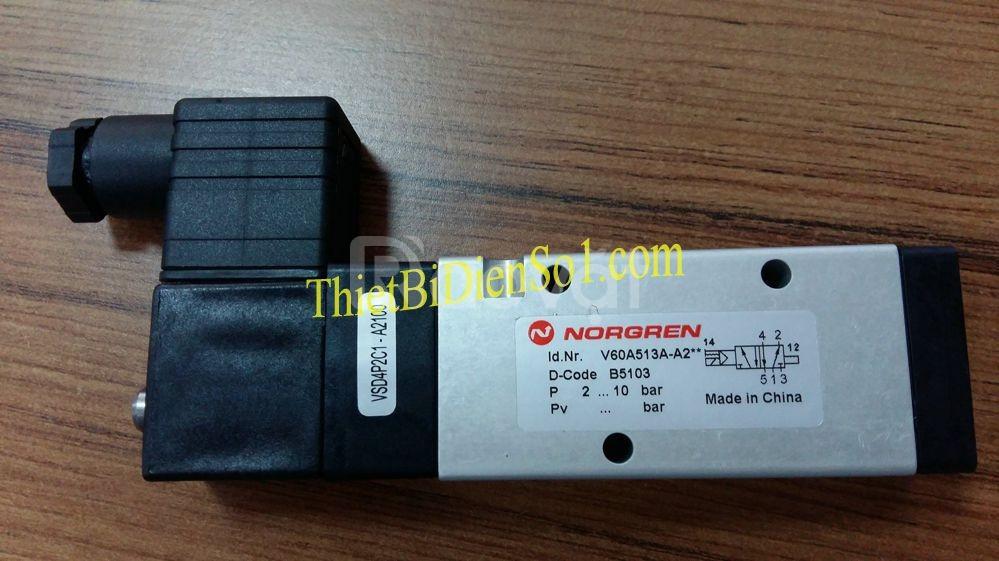 Van điện từ Norgren V60A513A-A2 - Cty Thiết Bị Điện Số 1