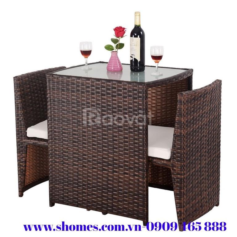 Bộ bàn ghế cafe đẹp