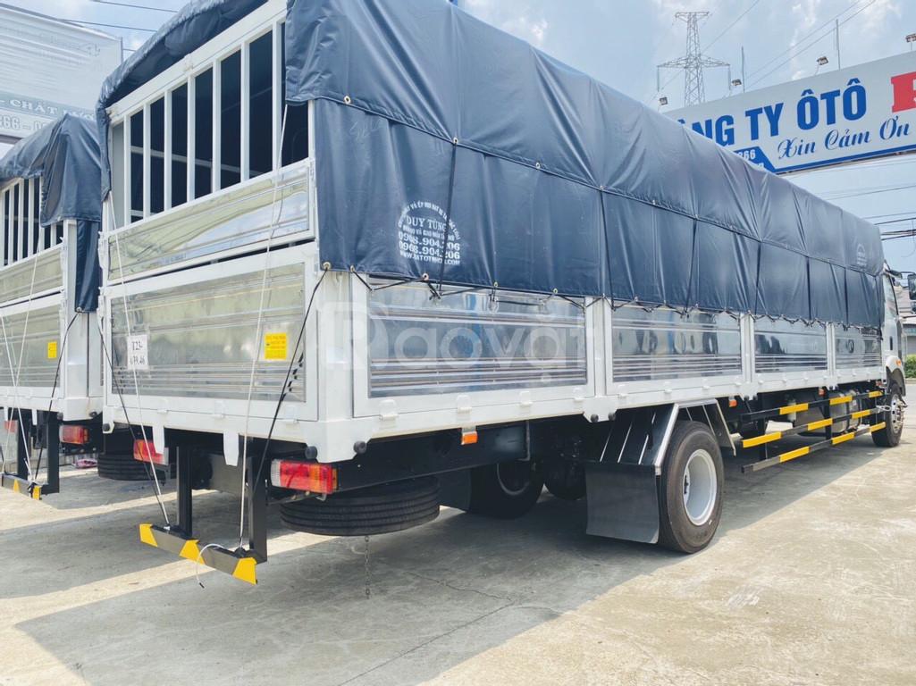 Xe tải 8 tấn thùng dài 12 mét đời 2020