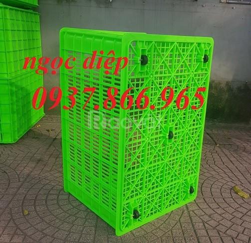 Thùng nhựa bánh xe, sọt nhựa đan lưới, sọt nhựa lỗ, sọt nhựa bánh xe