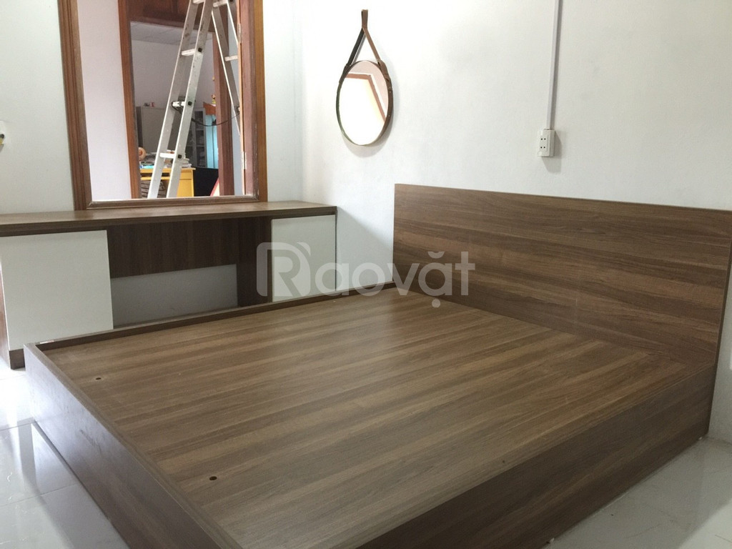 Giường ngủ gỗ công nghiệp kích thước 1,6mx2m