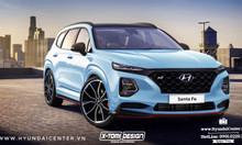 Bán Hyundai SantaFe tặng gói ưu đãi nâng cấp [N Line Edition]