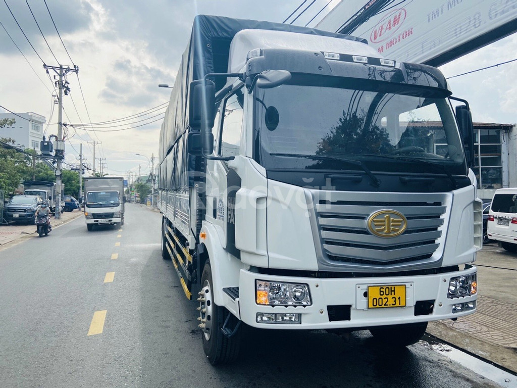 Xe tải Faw 8 tấn thùng dài 9M7