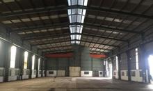 Cho thuê kho xưởng DT 2700m2 KCN Từ Liêm