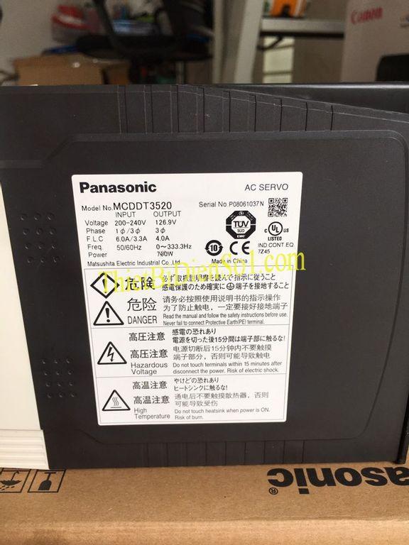 Servo driver Panasonic MCDDT3520