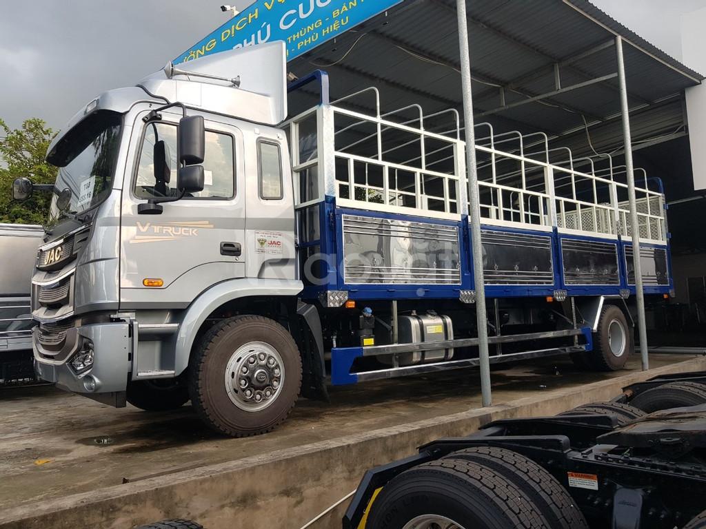 Đại lý xe tải jac A5 8 tấn thùng dài 9.5 mét nhập khẩu