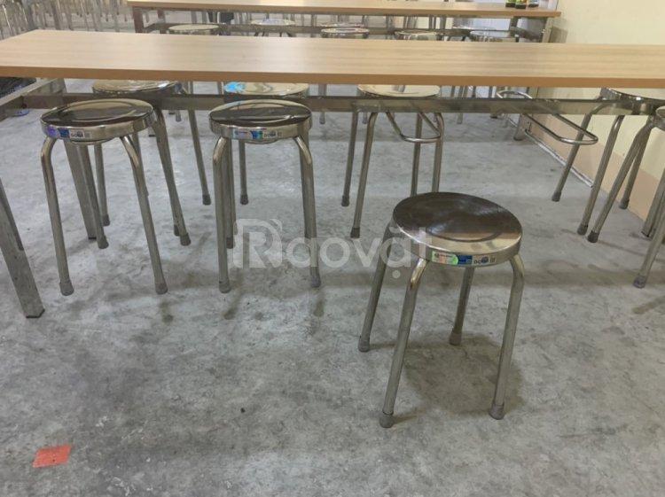 Bàn ghế Inox giá rẻ tại Bình Dương