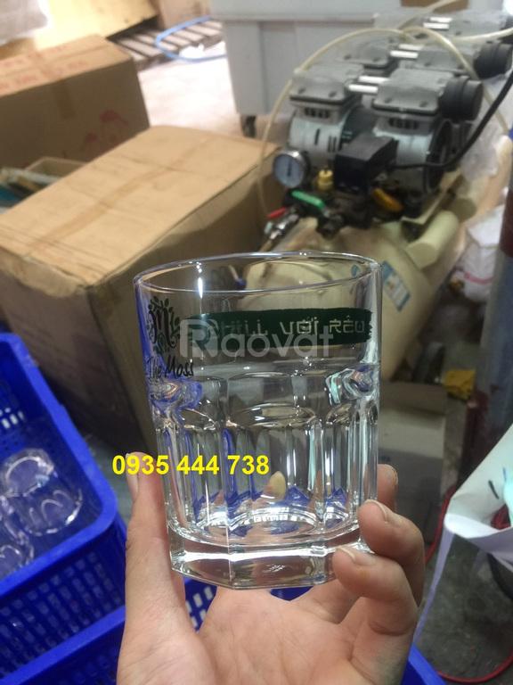 Xưởng chuyên ly thủy tinh in logo tại Quảng Nam