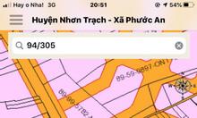 Đất Nhơn Trạch 470m2 mặt tiền Hùng Vương