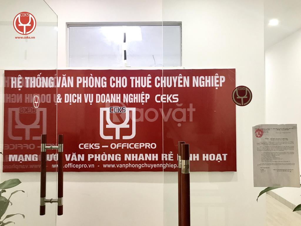 Văn phòng trọn gói tại 185 Chùa Láng chỉ từ 3tr5