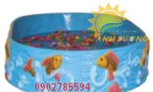 Bồn nghịch cát và nước cho trẻ nhỏ
