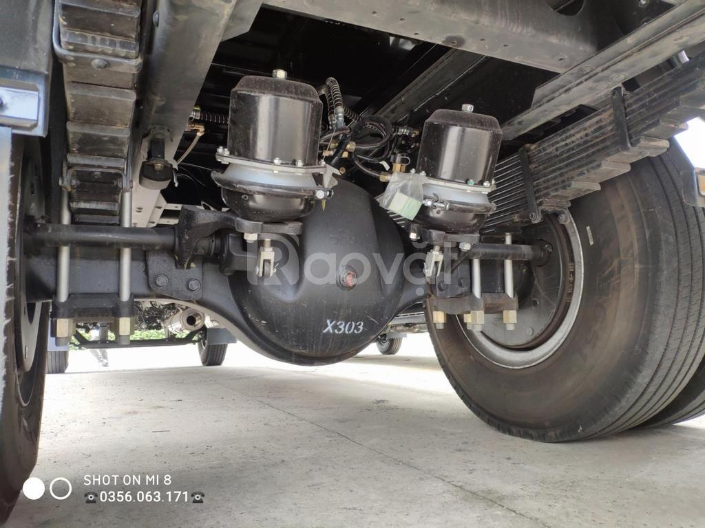 Xe tải 9 tấn thùng dài 8 mét giá rẻ