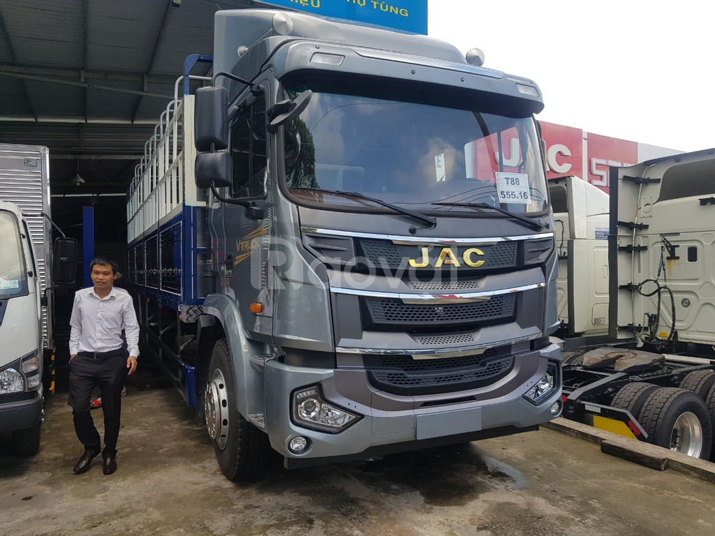 Xe tải jac A5 thùng dài 9.5 mét nhập khẩu 2020