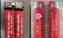 Xưởng in bật lửa giá rẻ, in logo bật lửa quảng cáo