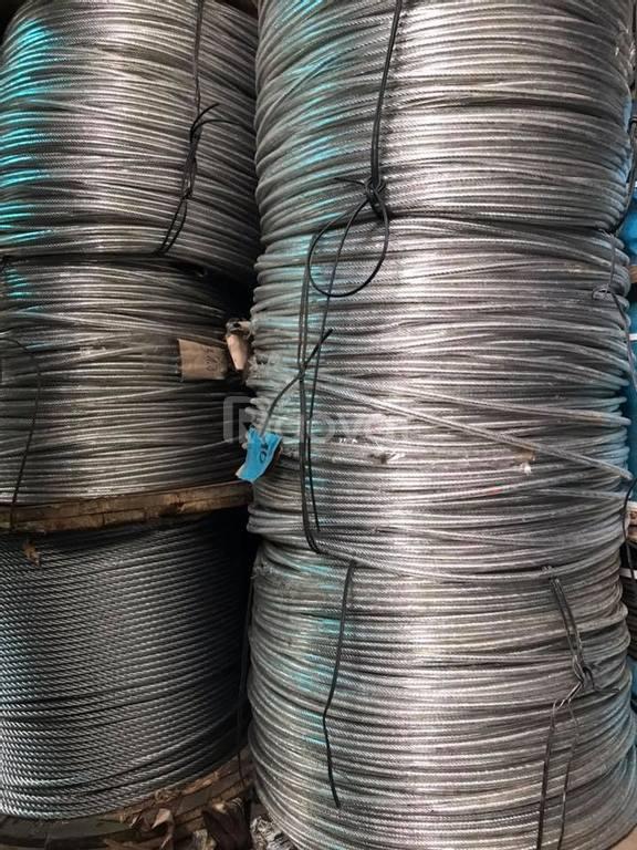 Tổng kho phân phối các loại cáp thép, cáp vải