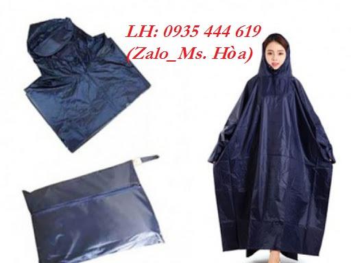 Áo mưa in logo quảng cáo giá rẻ tại Quảng Nam