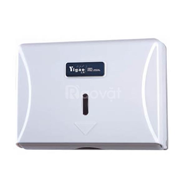 Hộp giấy lau tay treo tường nhà vệ sinh bằng inox, nhựa ABS Hậu Giang