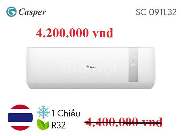 Điều hòa Casper SC09TL32 1 chiều nhập khẩu Thái Lan