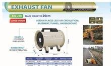 Các loại quạt hút công nghiệp Dasin được dùng