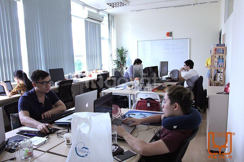 Khám phá văn phòng hiện đại tại Licogi 13