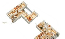 Căn Duplex, 4 PN, 267.8m2 Mandarin Garden, 14.5 tỷ
