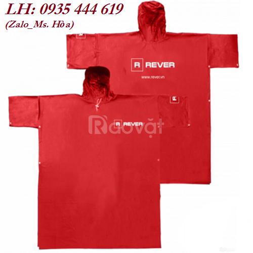 Áo mưa in logo theo yêu cầu tại Quảng Ngãi