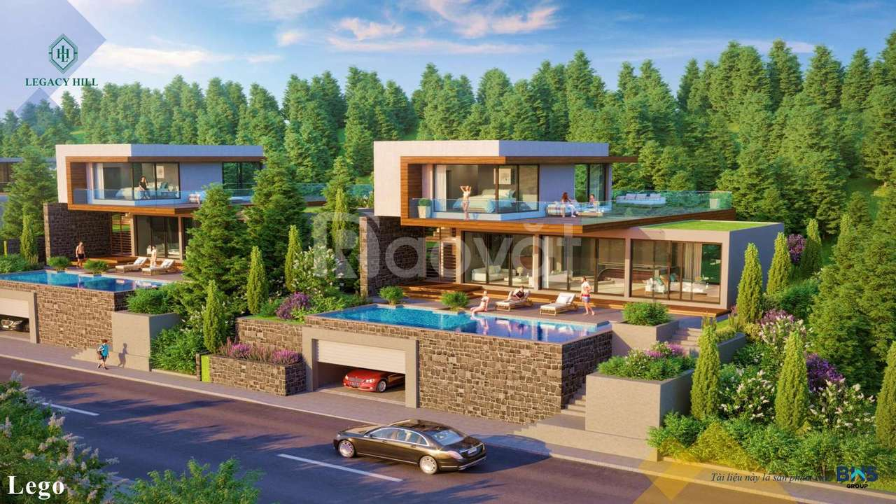 Biệt thự ven đô Legaccy Hòa Bình giá chỉ 9.9 triệu/m2
