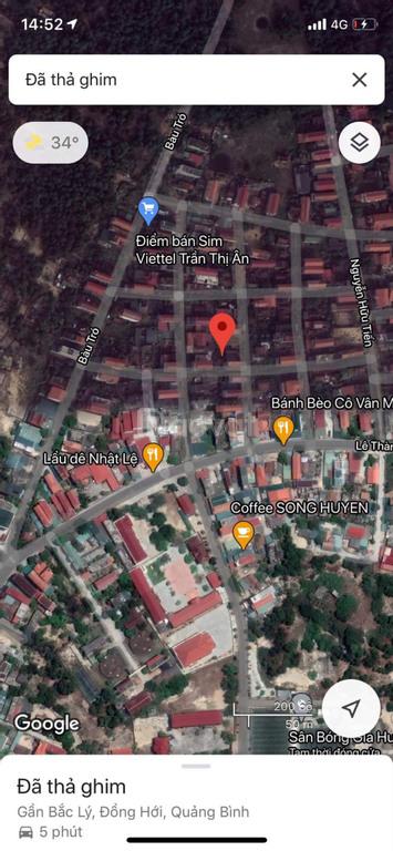 Bán đất trung tâm thành phố Đồng Hới