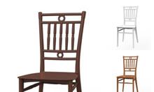 Ghế nhựa Bamboo dựa lưng không tay vịn nhiều màu