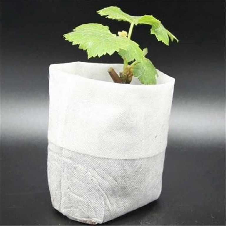 Vải không dệt may túi trồng cây