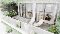 Căn hộ Resort tặng sân vườn đẹp quận 4, 2PN view đẹp, tầng cao