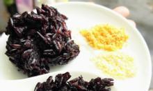 Cơm gạo lứt tím MsSlim, ăn hoài không mập